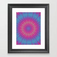 Acid Test 2 Framed Art Print