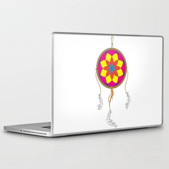 Dream Catcher Colour Laptop & iPad Skin