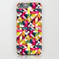 iPhone & iPod Case featuring Aztec Geometric VII by AJJ ▲ Angela Jane Johnston
