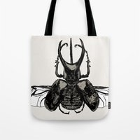Scarab Two Tote Bag