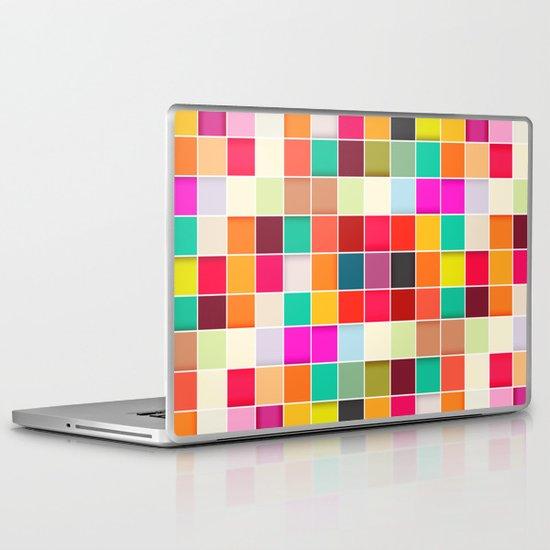 Colorful Rectangles Laptop & iPad Skin