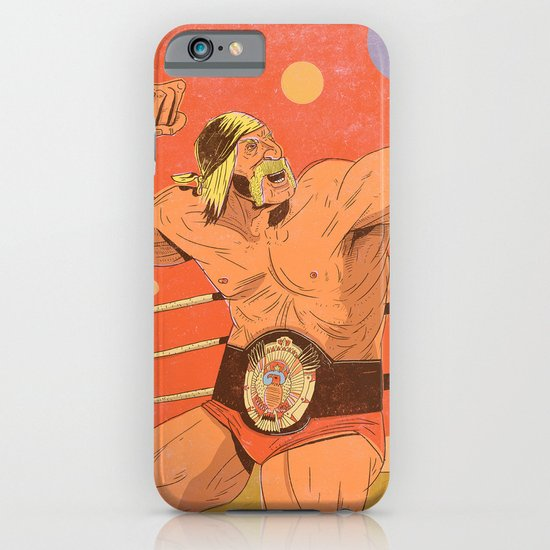 The Hulkster! iPhone & iPod Case