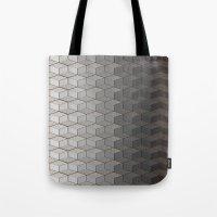Pattern #6 Greyscale Tote Bag