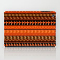 Under the Volcano - tribal geometrics iPad Case