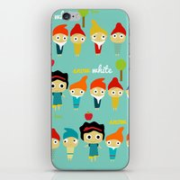 Snow White And The 7 Dwa… iPhone & iPod Skin