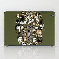 Helmets of fandom - respect the head! iPad Case