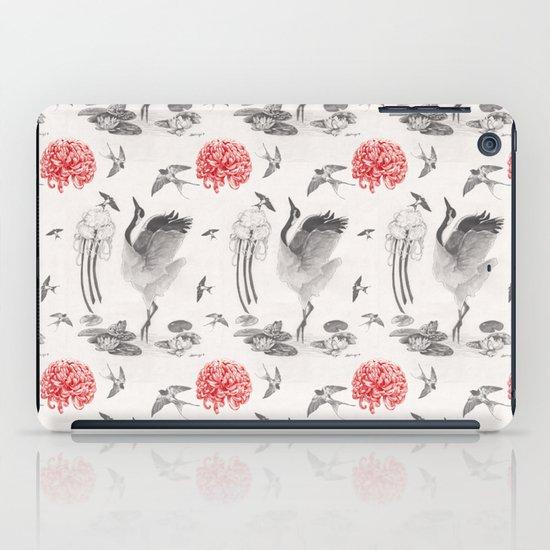 Crane, Swallow, Frog iPad Case