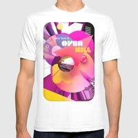 Overkill Mens Fitted Tee White SMALL
