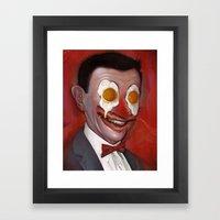 Mr. Breakfast Framed Art Print