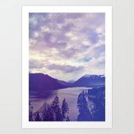 The Wild Blue Yonder Art Print