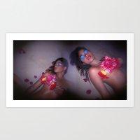 Aloha Pele Art Print