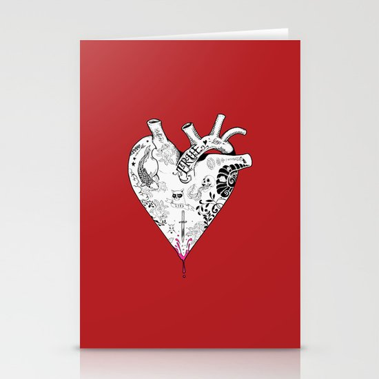 True Love  Stationery Card