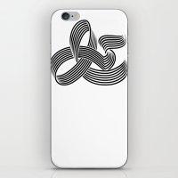 Eye bending Ampersand. iPhone & iPod Skin
