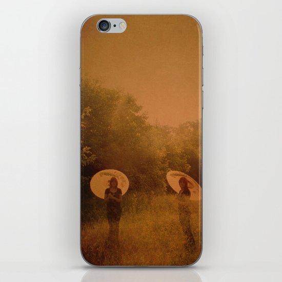 under my umbrella iPhone & iPod Skin
