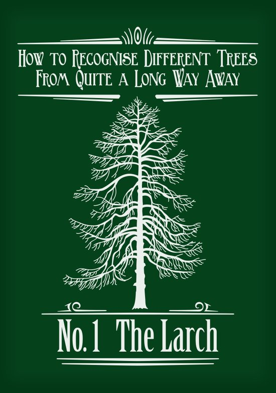 No. 1 The Larch Art Print