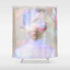 La femme surréaliste  Shower Curtain