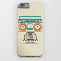 iPhone & iPod Case featuring Music robot by Bajibaj