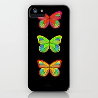 iPhone Cases featuring Butterflies by Chelle Shaw