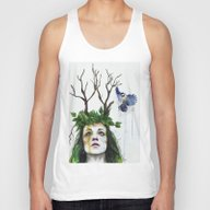 Waiting For Bloom Unisex Tank Top
