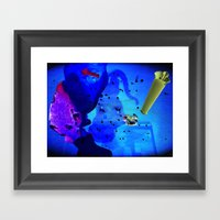 Glowda Framed Art Print