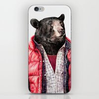 Black Bear iPhone & iPod Skin