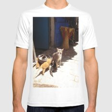 What´s the new, pussycat? Mens Fitted Tee White SMALL