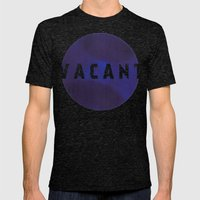 Vacant - Galaxy Eyes & G… Mens Fitted Tee Tri-Black SMALL