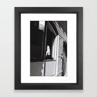 Girl At The Window, Stoc… Framed Art Print