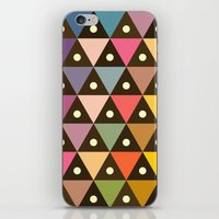 Cosmic Triangles iPhone & iPod Skin