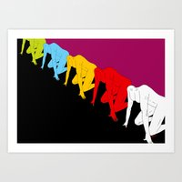 Race To Nowhere Art Print