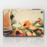 Tulips Of Orange iPad Case