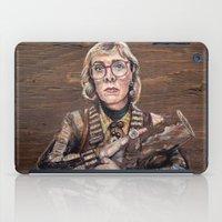 Log Lady / Twin Peaks iPad Case