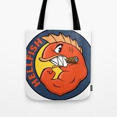 The Flying Hellfish Tote Bag