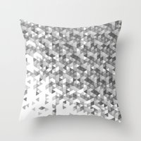 Triangular Explosion Throw Pillow