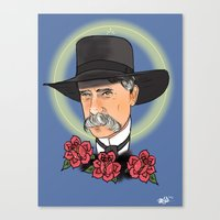 Virgil Earp Canvas Print