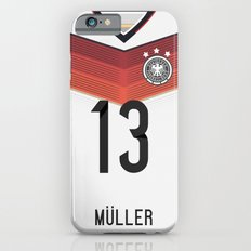 World Cup 2014 - Germany Müller Shirt Style iPhone 6 Slim Case