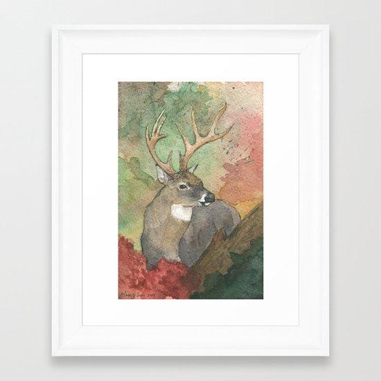 Forest King Framed Art Print