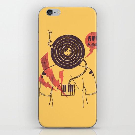 The Vinyl Frontier (alternate) iPhone & iPod Skin
