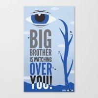 Big Brother. Canvas Print