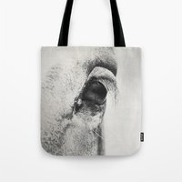 HorSe (V2 Grey) Tote Bag
