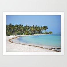 Beach Beach Beach.  Art Print