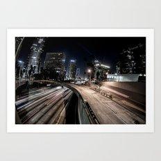 6th st overpass Art Print