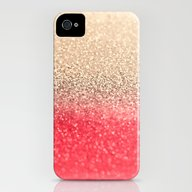 GOLD CORAL iPhone (4, 4s) Slim Case