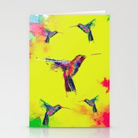 COLOUR EXPLOSION HUM Stationery Cards