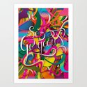 So Gorgeous (Feat. Roberlan Borges) Art Print