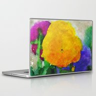 Laptop & iPad Skin featuring Color Of Pansies Writ La… by V. Sanderson / Chick…