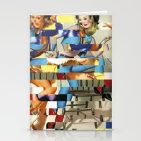 Glitch Pin-Up Redux: Yas… Stationery Cards