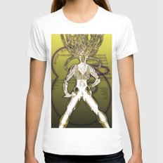 Interface Womens Fitted Tee White SMALL