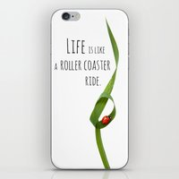 Life is like a roller coaster ride. iPhone & iPod Skin