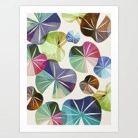I dream of Lilypads Art Print